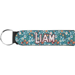 Rocket Science Keychain Fob (Personalized)
