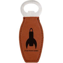 Rocket Science Leatherette Bottle Opener (Personalized)
