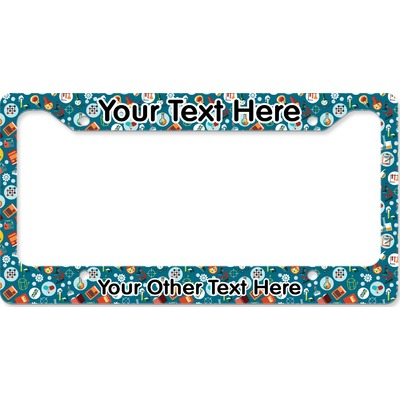 Rocket Science License Plate Frame (Personalized)