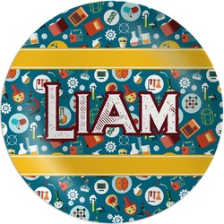 Rocket Science Melamine Plate (Personalized)