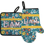 Rocket Science Oven Mitt & Pot Holder (Personalized)