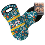 Rocket Science Neoprene Oven Mitt (Personalized)
