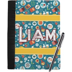 Rocket Science Notebook Padfolio - Large w/ Name or Text