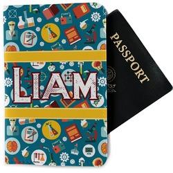 Rocket Science Passport Holder - Fabric (Personalized)