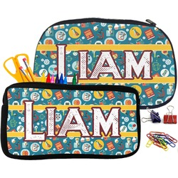 Rocket Science Pencil / School Supplies Bag (Personalized)