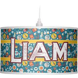 Rocket Science Drum Pendant Lamp (Personalized)