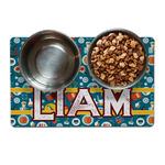 Rocket Science Pet Bowl Mat (Personalized)