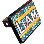 """Rocket Science Rectangular Trailer Hitch Cover - 2"""" (Personalized)"""