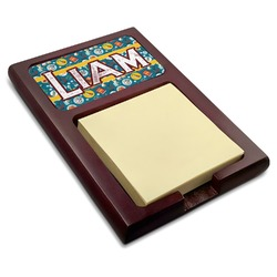 Rocket Science Red Mahogany Sticky Note Holder (Personalized)
