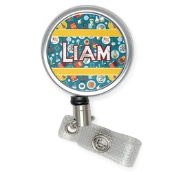 Rocket Science Retractable Badge Reel (Personalized)