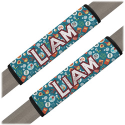 Rocket Science Seat Belt Covers (Set of 2) (Personalized)