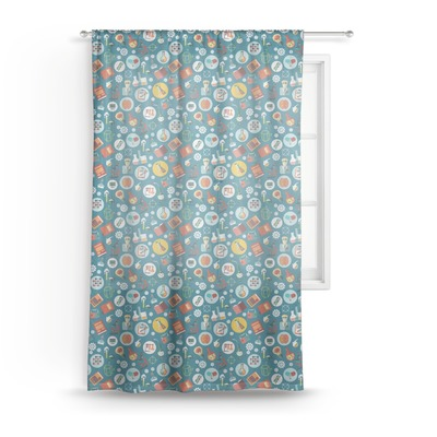 Rocket Science Sheer Curtains (Personalized)