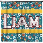 Rocket Science Shower Curtain (Personalized)