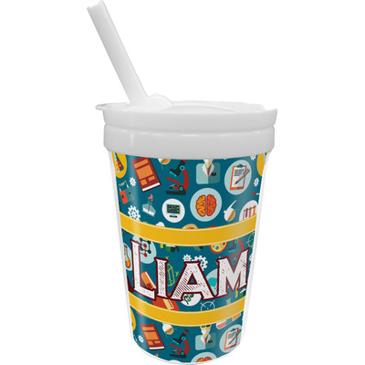 Rocket Science Sippy Cup with Straw (Personalized)