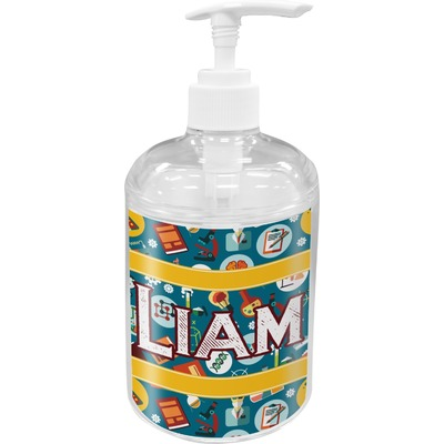 Rocket Science Acrylic Soap & Lotion Bottle (Personalized)