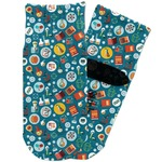 Rocket Science Toddler Ankle Socks (Personalized)
