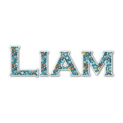 Rocket Science Name/Text Decal - Custom Sized (Personalized)
