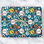 Rocket Science Wrapping Paper (Personalized)