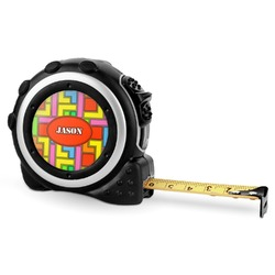 Tetris Print Tape Measure - 16 Ft (Personalized)