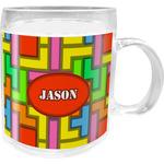 Tetris Print Acrylic Kids Mug (Personalized)