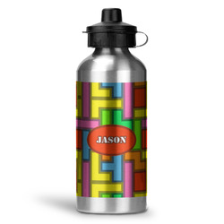 Tetromino Water Bottle - Aluminum - 20 oz (Personalized)