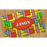 Tetris Print Area Rug (Personalized)