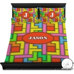 Tetris Print Duvet Cover Set (Personalized)