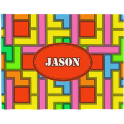 Tetris Print Placemat (Fabric) (Personalized)