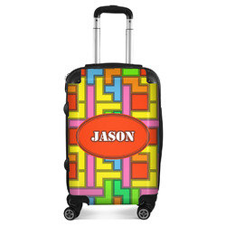 Tetris Print Suitcase (Personalized)