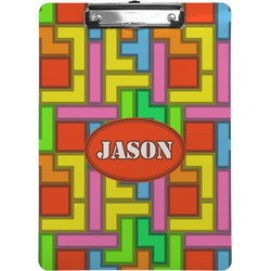 Tetromino Clipboard (Personalized)