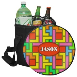 Tetris Print Collapsible Cooler & Seat (Personalized)