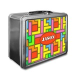Tetris Print Lunch Box (Personalized)