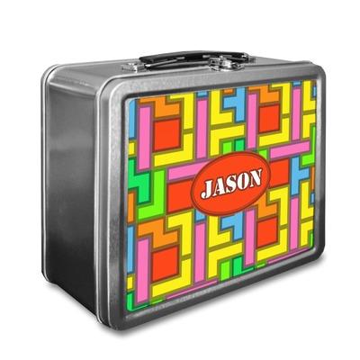 Tetris Print Lunch Box (Personalized)