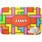 Tetris Print Dish Drying Mat (Personalized)