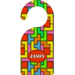 Tetris Print Door Hanger (Personalized)