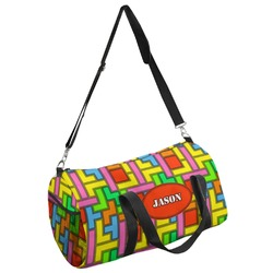 Tetris Print Duffel Bag - Multiple Sizes (Personalized)