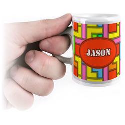 Tetromino Espresso Cups (Personalized)