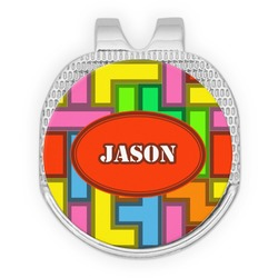 Tetris Print Golf Ball Marker - Hat Clip