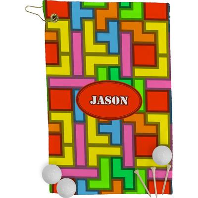 Tetris Print Golf Towel - Full Print (Personalized)