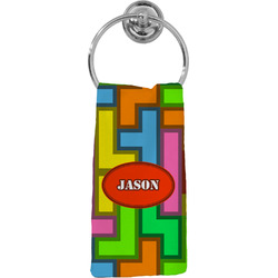 Tetris Print Hand Towel - Full Print (Personalized)