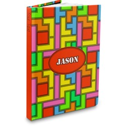 Tetris Print Hardbound Journal (Personalized)