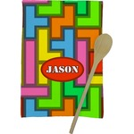Tetris Print Kitchen Towel - Full Print (Personalized)