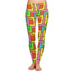 Tetromino Ladies Leggings (Personalized)