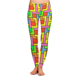 Tetris Print Ladies Leggings (Personalized)