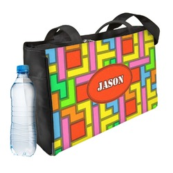 Tetris Print Ladies Workout Bag (Personalized)