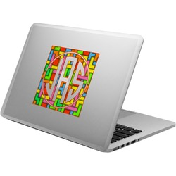 Tetromino Laptop Decal (Personalized)