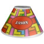 Tetris Print Coolie Lamp Shade (Personalized)