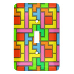 Tetromino Light Switch Covers (Personalized)
