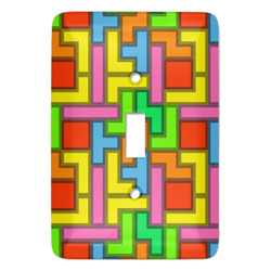 Tetris Print Light Switch Covers (Personalized)