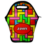 Tetromino Lunch Bag w/ Name or Text